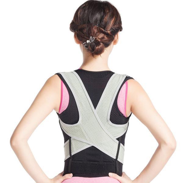 Ryggstöd hållningsväst posture för kroppshållning