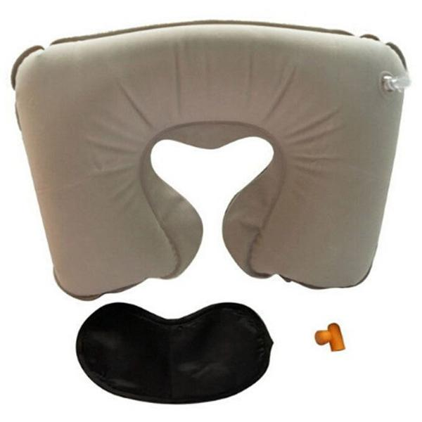 Resepaket - Nackkudde, ögonbindel & öronproppar