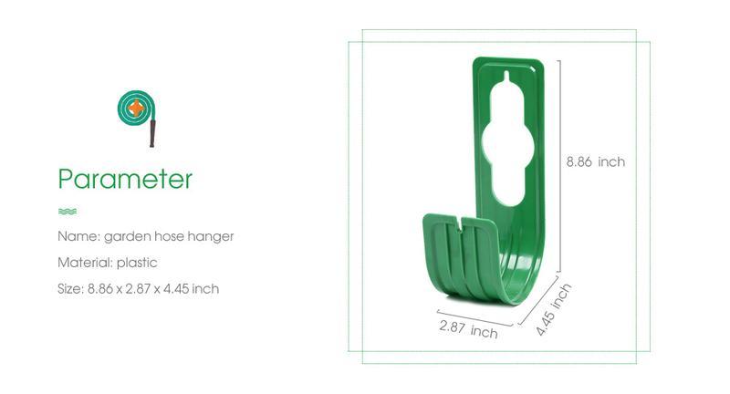 2st.Slang hållare upphängare krok grön