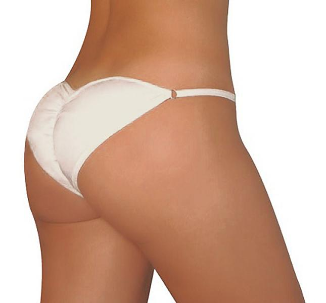 Padded Pants silikon Push up trosa bra. Vit: XL