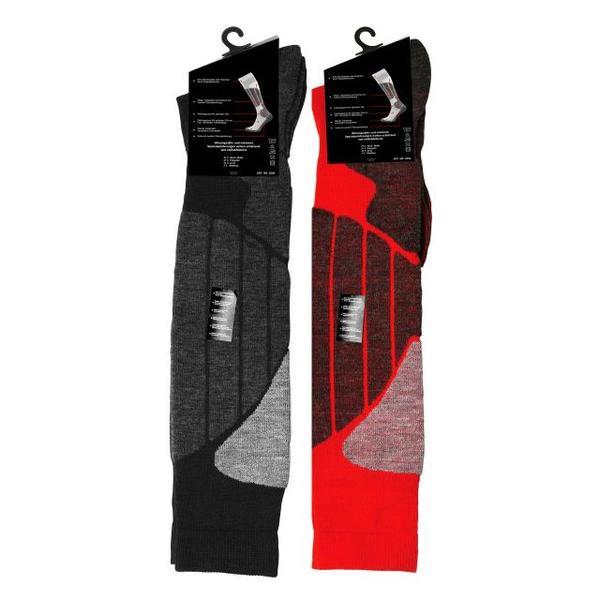 Sport strumpor.Röd/Grå