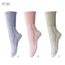 COOLMAX strumpor för träning,vandring (Färg: Grå)