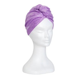 Handduk mikrofiber turban (Färg: Blå)
