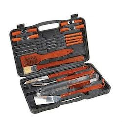 BBQ Grill verktyg 18 delar