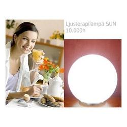 Dagsljuslampa SUN - LED Ljusterapilampa 2019