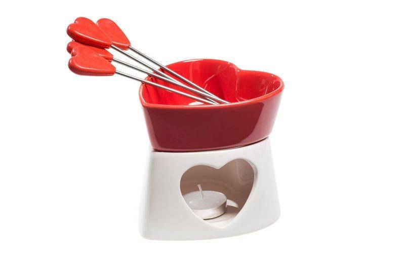 Porslin chokladfondue