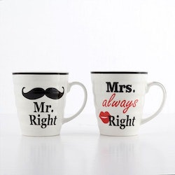 Mr & Mrs Always Right muggar