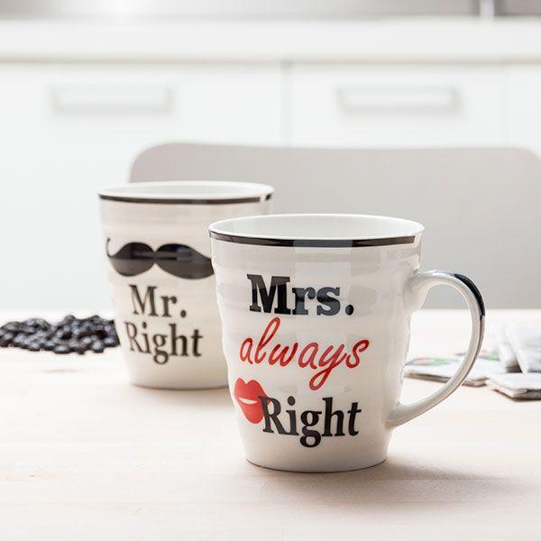 Mr & Mrs Always Right muggar