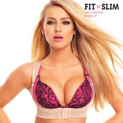 SHAPER CHIC push up bh (Storlek: L)