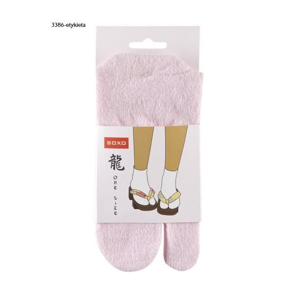Japanska Tabi strumpor (Färg: Rosa)