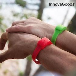 Armband mot mygg röd