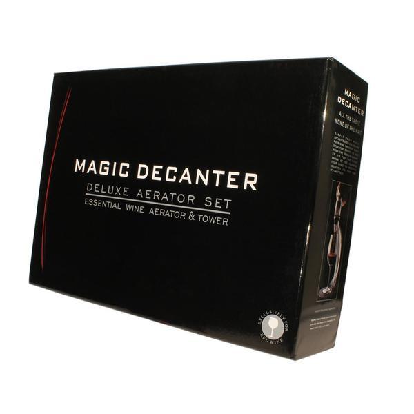 Vinluftare Magic Decanter med ställ