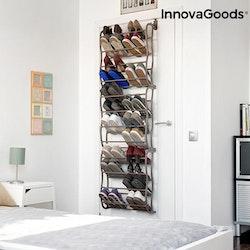 Skoställ för dörr 35 par skor