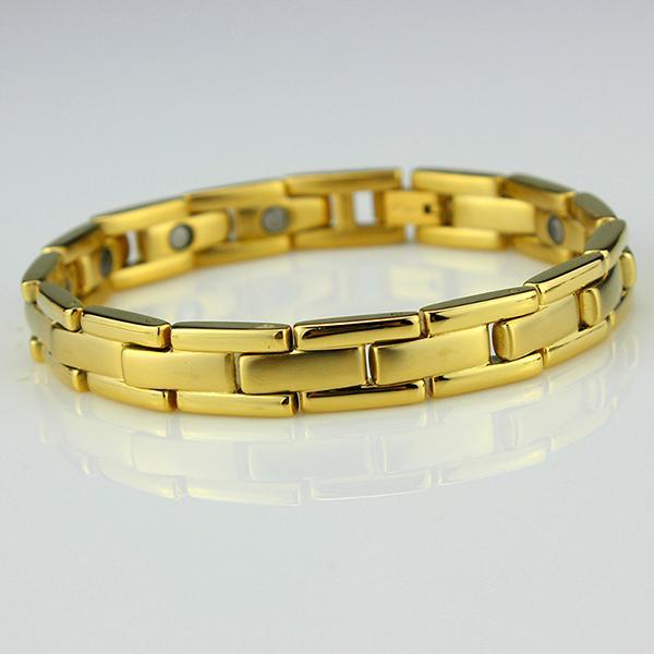 Magnetarmband i elegant modell- Enfärgad (Storlek: L)