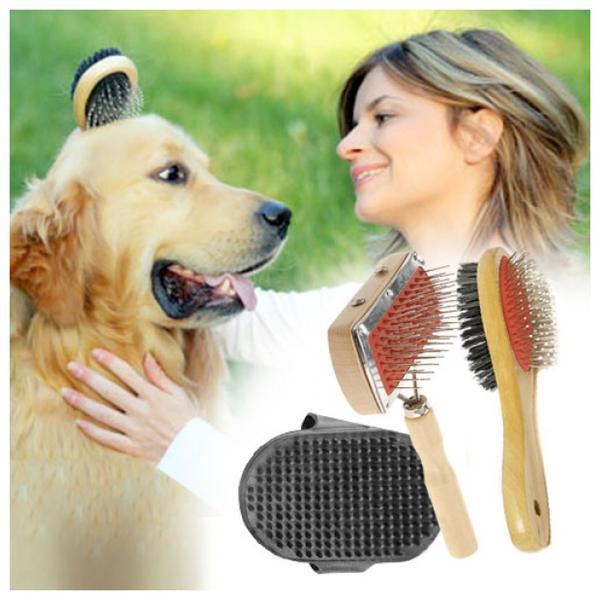 Hundborstar 3-pack