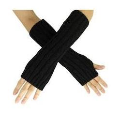 Hand och armvärmare lindrar smärta i leder och muskler- svart