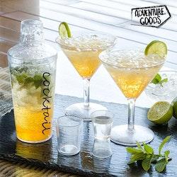 Cocktail-set i plast
