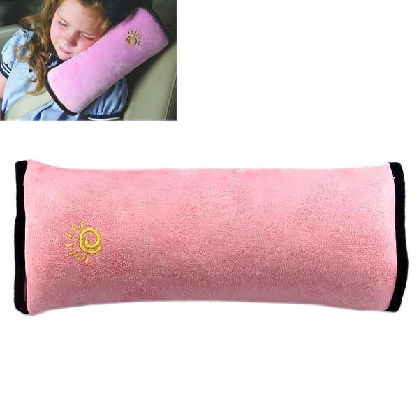 Bälteskudde till bilen rosa