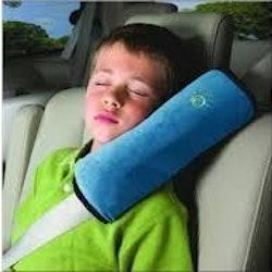Bälteskudde till bilen blå