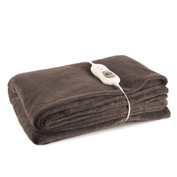 Bäddvärmare Elektrisk värmefilt i fleece
