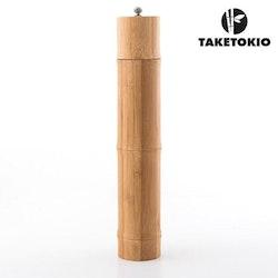 Salt och pepparkvarn kryddkvarn bambu keramisk