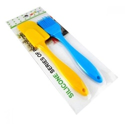 Pensel silikon och degskrapa
