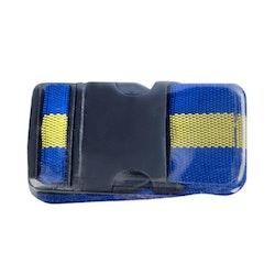 Bagageband Marinblå med 2 siffrigt kombilås