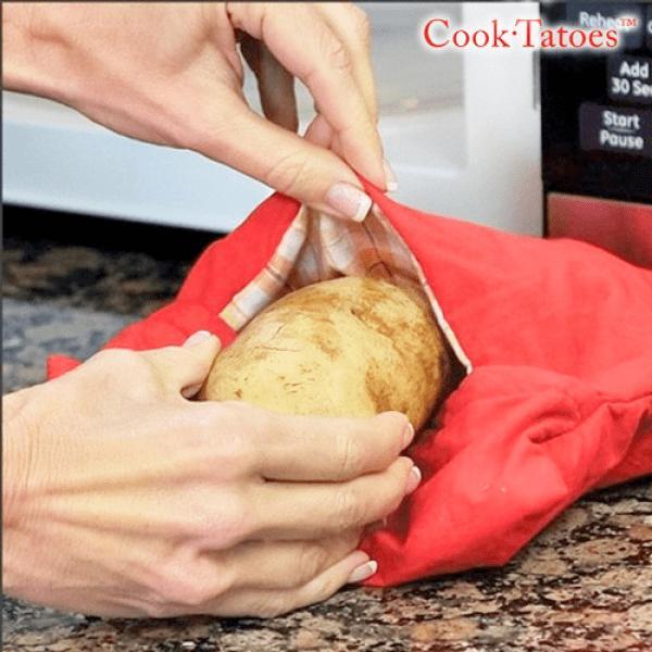 Påse för bakad potatis i mikron
