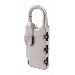 Kombinationslås   bagage lås - Silver Silverline