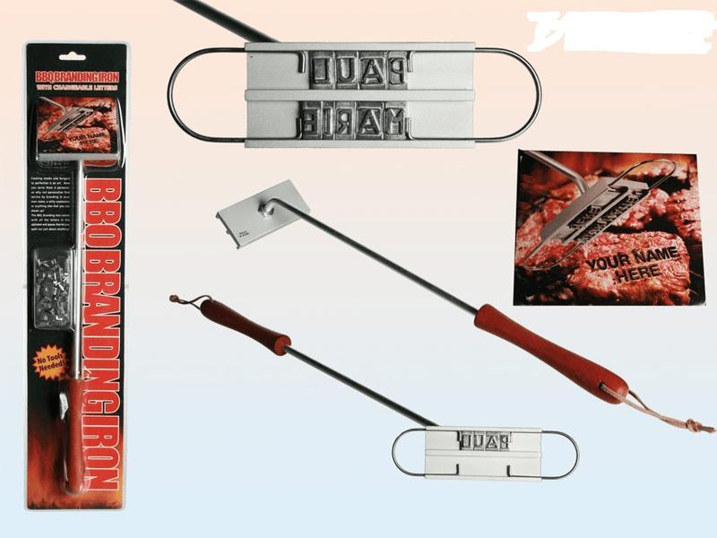 BBQ BRANDING IRON- Personlig brännmärkning för grillen.