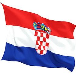 Kroatien flagga 150x90 cm