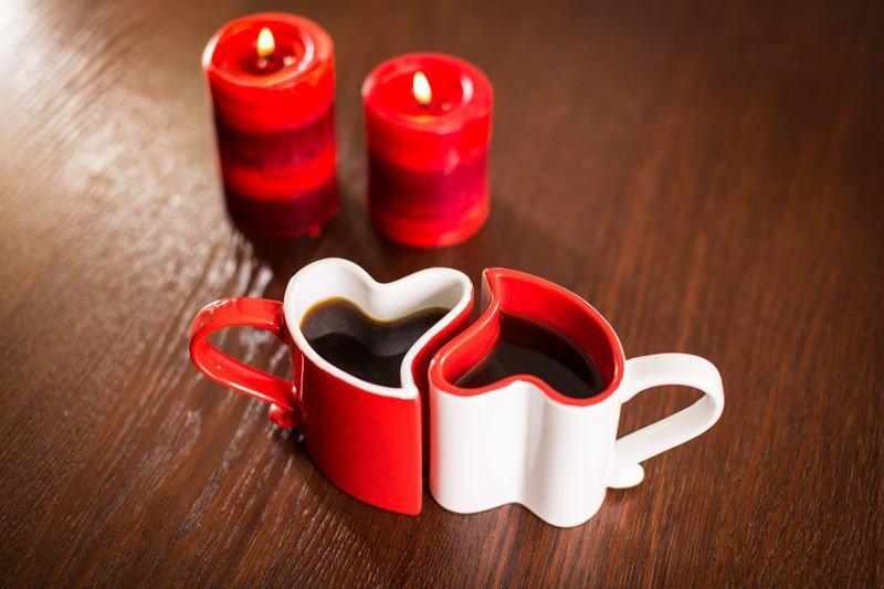 Hjärtformade koppar