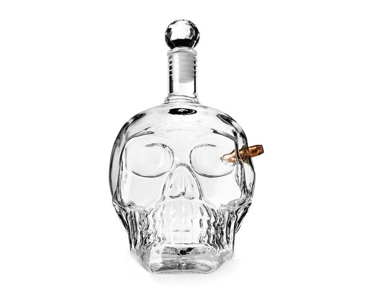 Karaff whiskey 700ml - Döskalle