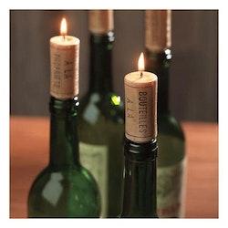 Vinkork-ljus