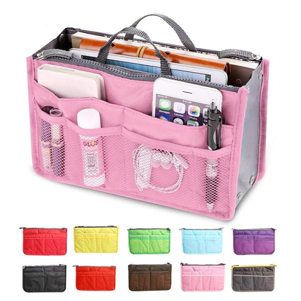 Bag in bag väskinsats necessär (Färg: TURKOS)