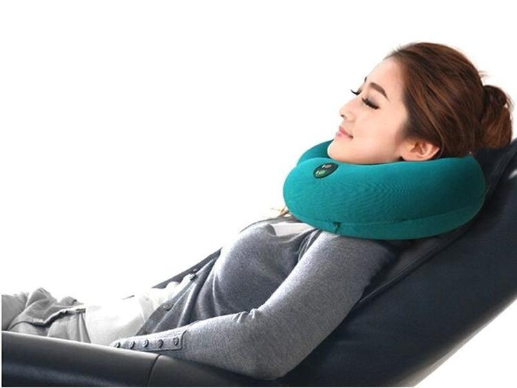Massagekudde Nackkudde - Svart