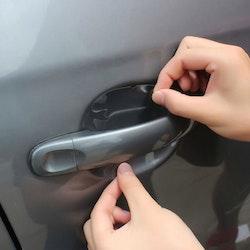 Bil Repskydd -Transparent för bil dörrhandtag 4 st.