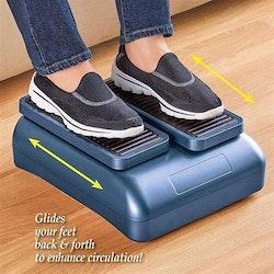 Cirkulationstränare fotmassage främjar blodcirkulationen i fötterna.