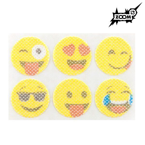 Myggplåster med citronella. Emoji Antimyggplåster 36st.