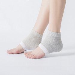 Gel Sockor Hälsocka strumpa mot hälsporre spruckna ...