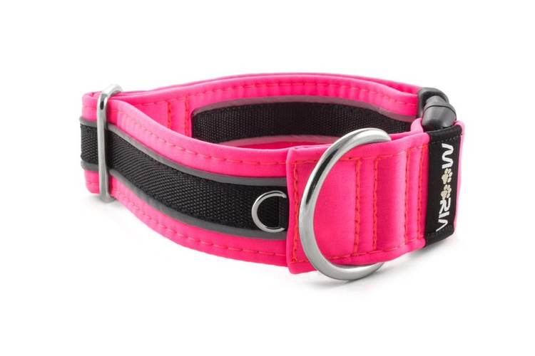 Reflex Hundhalsband Neon Rosa