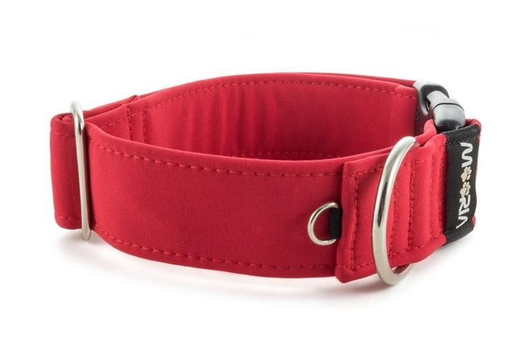 Hundhalsband Röd