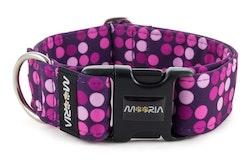 Hundhalsband Violet Dots
