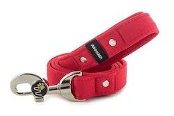 Hundkoppel 130 cm Röd