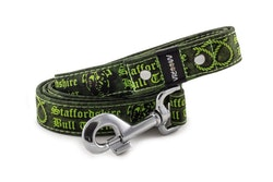 Hundkoppel 130 cm Staffordshire Bull Terrier Grön