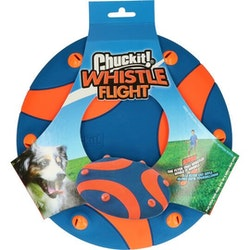 "Frisbee ""Chuckit whistle flight"""