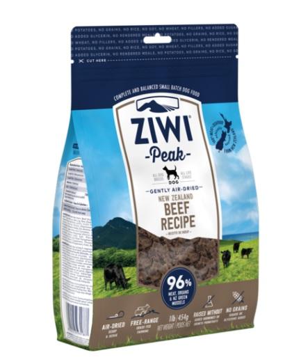 Ziwi Peak Dog Air-Dried Beef 454 g