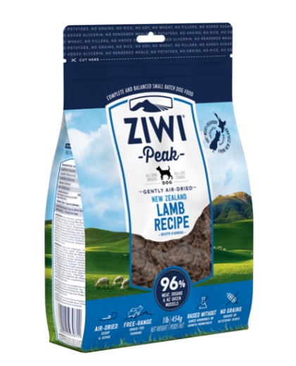 Ziwi Peak Dog Air-Dried Lamb 454 g