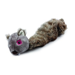 Ekorre hundleksak med stretch