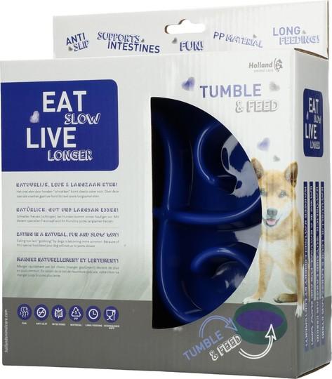 Hundmatskål Eat Slow Live Longer Tumble Feeder